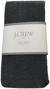 J.Crew Top made tights in Italy grey Made for J.Crew in new packaging S/M