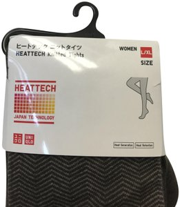 Uniqlo Uniqlo Heattech Knitte Tights size L/LX new - Japan made