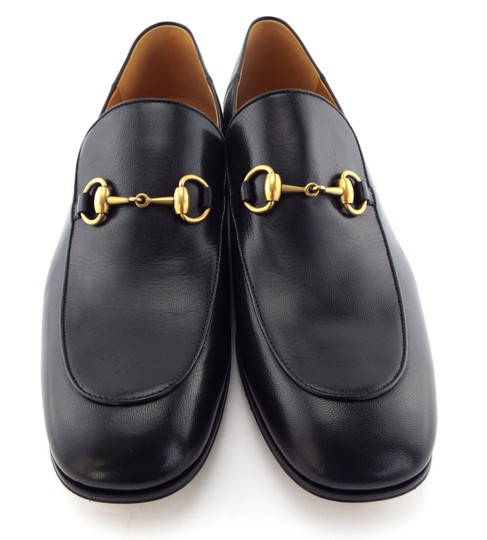 Gucci Black Horsebit Leather Logo Controvertible Slip-on Loafers/Mules 12us/11uk Shoes Image 3