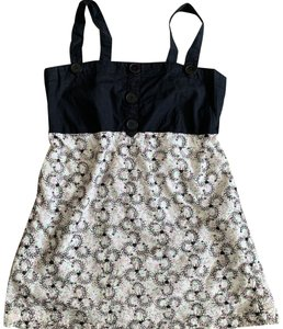 Charlotte Russe Top Black, White, Pink