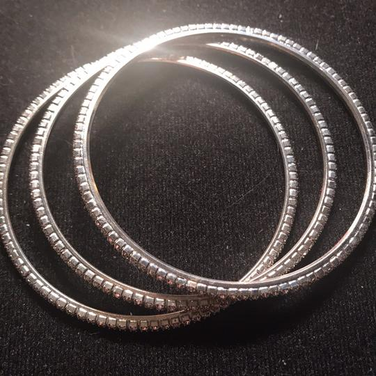 Doncaster 3 doncaster faux diamond bangle bracelets sold independantly Image 2