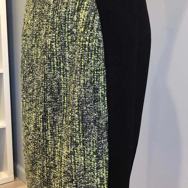 Elie Tahari Skirt green and black Image 1
