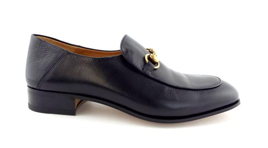 Gucci Black Horsebit Leather Logo Controvertible Slip-on Loafers/Mules 8.5us/7.5uk Shoes Image 5