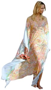 multicolored Maxi Dress by CHANEL Pumps Booties Top