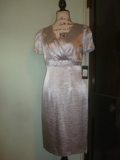 Silver C3215 Traditional Bridesmaid/Mob Dress Size 6 (S) Image 1
