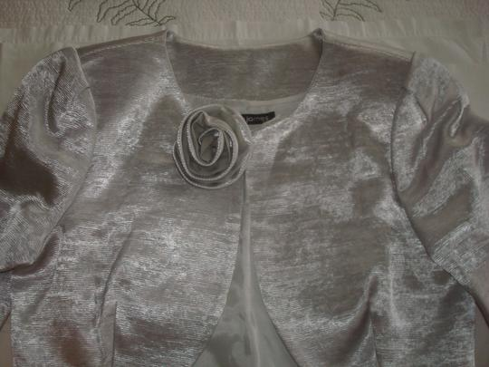 Silver C3215 Traditional Bridesmaid/Mob Dress Size 6 (S) Image 10