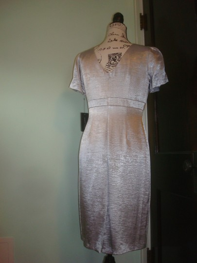 Silver C3215 Traditional Bridesmaid/Mob Dress Size 6 (S) Image 5