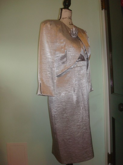 Silver C3215 Traditional Bridesmaid/Mob Dress Size 6 (S) Image 7