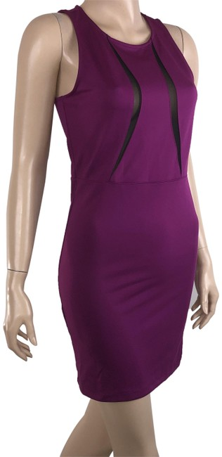 Preload https://img-static.tradesy.com/item/24845381/forever-21-purple-magenta-sheath-zippered-back-short-casual-dress-size-8-m-0-1-650-650.jpg