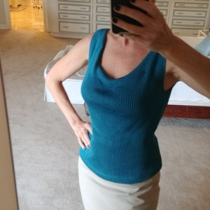 Ann Taylor Top Turquoise