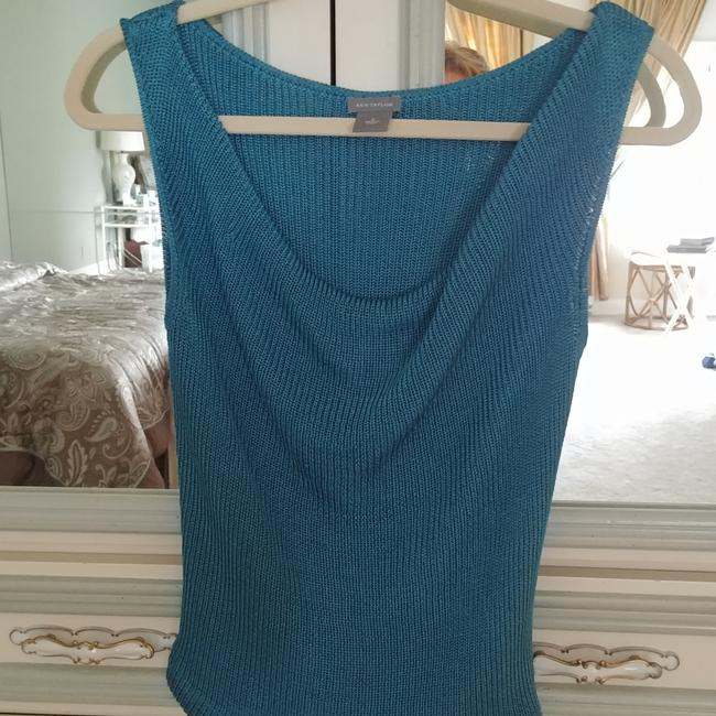 Ann Taylor Top Turquoise Image 1