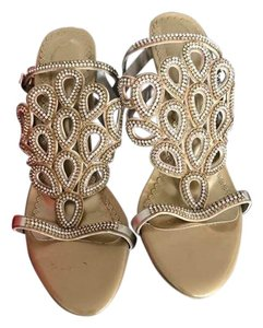 Japanese Gold with Jeweled Heels Formal