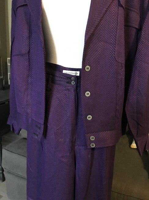 Liz Claiborne Satin lined pant suite. This is a closet favorite. Image 1