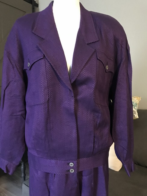 Liz Claiborne Satin lined pant suite. This is a closet favorite. Image 2