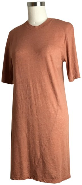 Preload https://img-static.tradesy.com/item/24845531/enza-costa-pink-t-shirt-mid-length-short-casual-dress-size-8-m-0-1-650-650.jpg