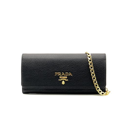Preload https://img-static.tradesy.com/item/24845533/prada-leather-wallet-on-chain-cross-body-bag-0-0-540-540.jpg