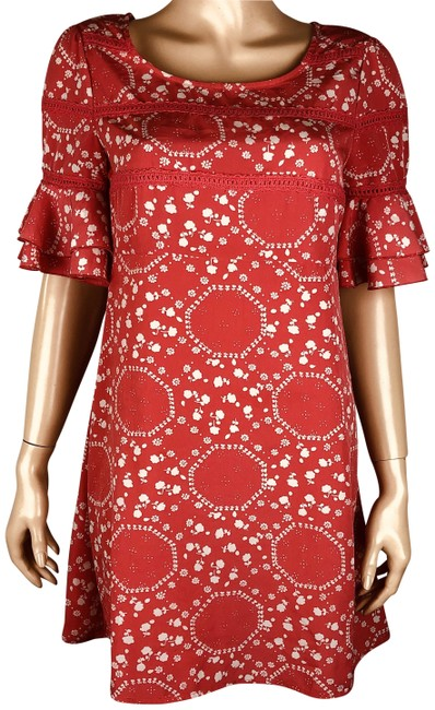 Preload https://img-static.tradesy.com/item/24845539/free-people-orange-coral-floral-ruffle-bell-sleeve-shift-short-casual-dress-size-4-s-0-2-650-650.jpg