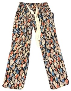 Saint Laurent Relaxed Pants Multi