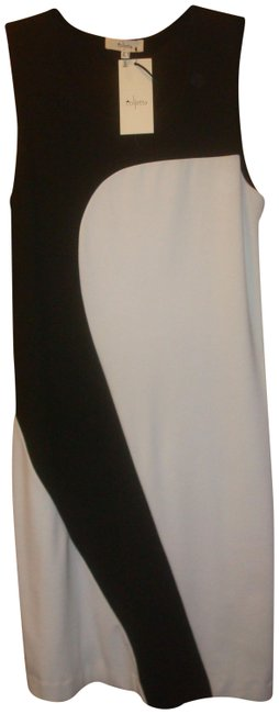 Black/White Tristan Mid-length Night Out Dress Size 6 (S) Black/White Tristan Mid-length Night Out Dress Size 6 (S) Image 1