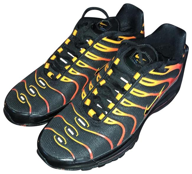 Nike Black Red Yellow Orange Air Max 97 Sneakers Size Us Regular M B Tradesy