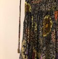 Matthew Williamson Black with Multicolored Flowers and Light Gold Sequence. Long Formal Dress Size 8 (M) Matthew Williamson Black with Multicolored Flowers and Light Gold Sequence. Long Formal Dress Size 8 (M) Image 6