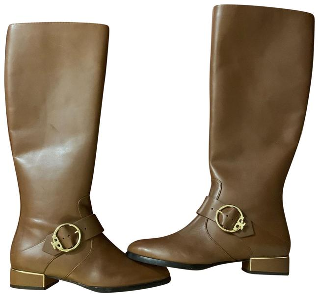 Tory Burch Camel Sofia Riding Boots/Booties Size US 7.5 Regular (M, B) Tory Burch Camel Sofia Riding Boots/Booties Size US 7.5 Regular (M, B) Image 1