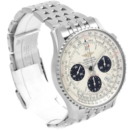 Breitling Breitling Navitimer Chronograph Panda Steel Mens Watch A23322 Box Pape Image 2
