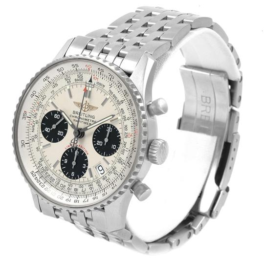 Breitling Breitling Navitimer Chronograph Panda Steel Mens Watch A23322 Box Pape Image 3