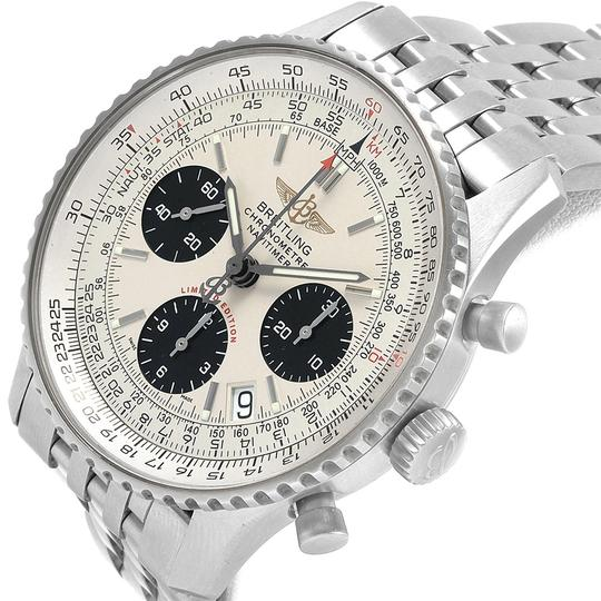 Breitling Breitling Navitimer Chronograph Panda Steel Mens Watch A23322 Box Pape Image 4