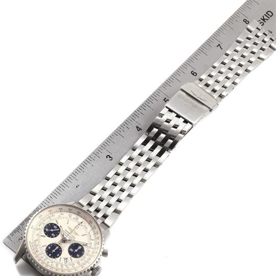 Breitling Breitling Navitimer Chronograph Panda Steel Mens Watch A23322 Box Pape Image 8