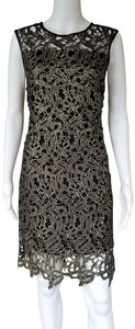 Gianni Bini Lace Shift Cocktail Dress