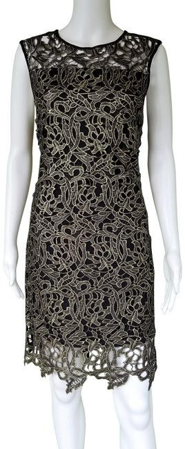 Preload https://img-static.tradesy.com/item/24845987/gianni-bini-black-gold-ariana-all-that-glitters-lace-mid-length-night-out-dress-size-6-s-0-1-650-650.jpg