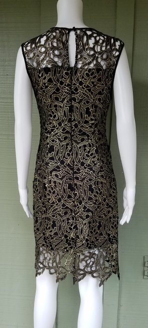 Gianni Bini Lace Shift Cocktail Dress Image 4