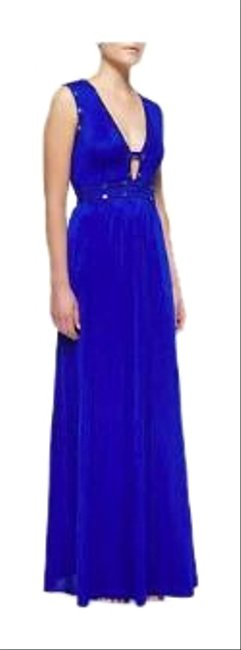 Preload https://img-static.tradesy.com/item/24846157/bcbgmaxazria-blue-juliette-sequin-trim-cutout-jersey-gown-long-casual-maxi-dress-size-0-xs-0-3-650-650.jpg