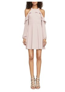 BCBGMAXAZRIA Coldshoulder Evening Party Teen Dress
