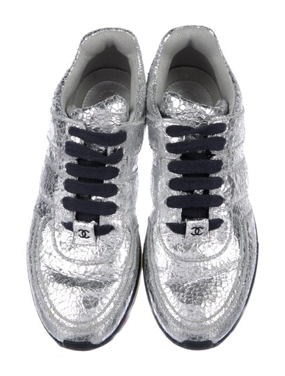 Chanel Silver Athletic Image 2