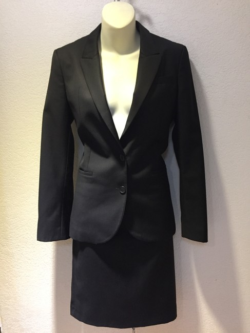 Gucci AUTHENTIC GUCCI QUALITY WOOL PENCIL SKIRT SLIM FIT SUIT, SIZE 40 Image 2