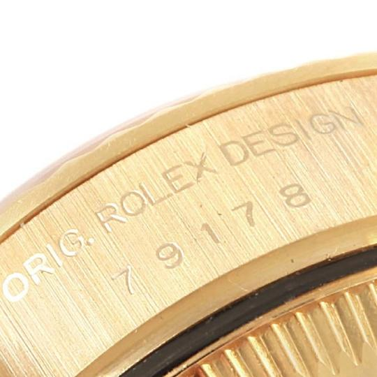 Rolex Rolex President Datejust 18k Yellow Gold Silver Dial Ladies Watch 7917 Image 7