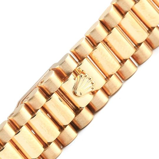 Rolex Rolex President Datejust 18k Yellow Gold Silver Dial Ladies Watch 7917 Image 9