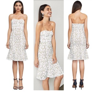 BCBGMAXAZRIA short dress White Night Out Date Night Cocktail Bodycon Strapless on Tradesy