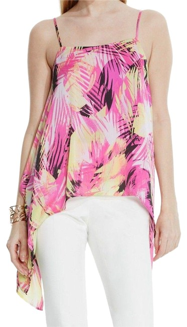 Vince Camuto Pink Details About Asymmetrical Leaf Blouse Size 10 (M) Vince Camuto Pink Details About Asymmetrical Leaf Blouse Size 10 (M) Image 1
