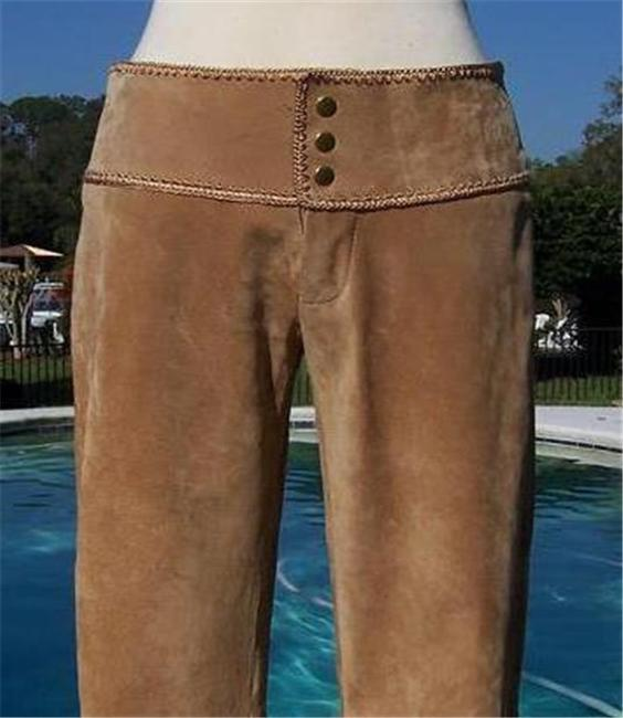 Cache Flare Pants Camel Image 1