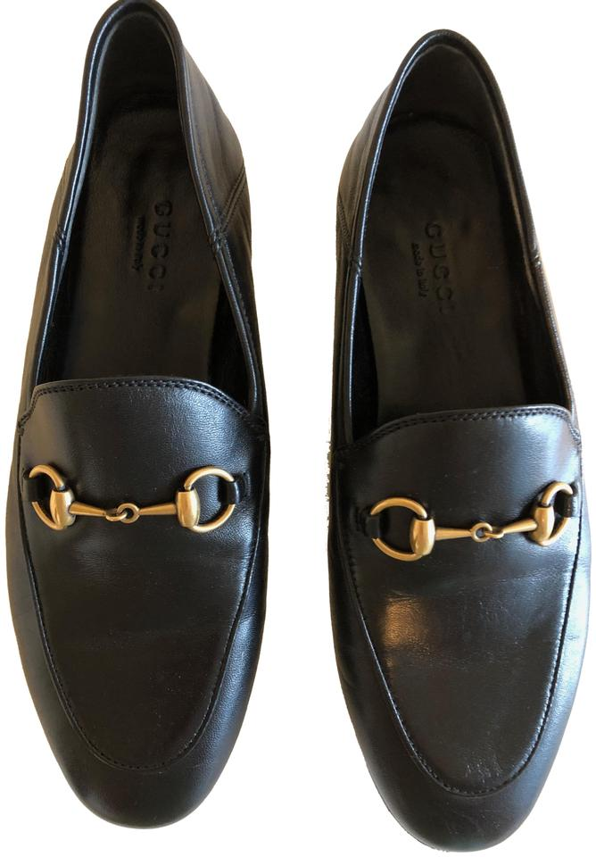 7b3aca1ea Gucci Black Brixton Convertible Loafer In Leather In Flats Size EU ...