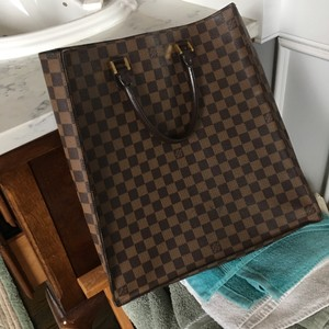 ee2b038a4be8 Added to Shopping Bag. Louis Vuitton Sack Plate Play Neverfull Shopper Tote  in Brown check. Louis Vuitton Neverfull Sac Plat ...