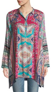 Johnny Was Tunic Top Multi