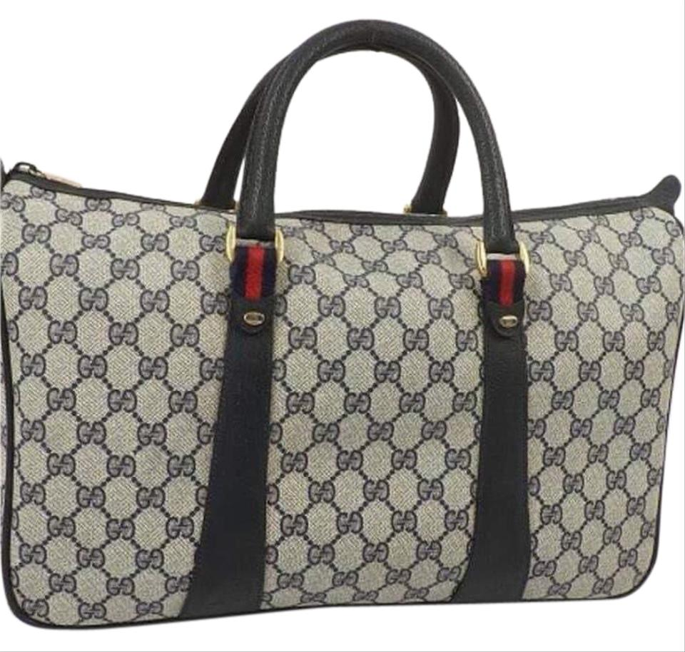 70e82ab9e Gucci Vintage Supreme Anniversary Collection Weekend/Travel Bag ...