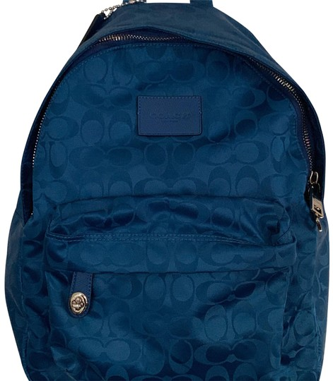 Preload https://img-static.tradesy.com/item/24846671/coach-signature-sporty-blue-nylon-backpack-0-1-540-540.jpg