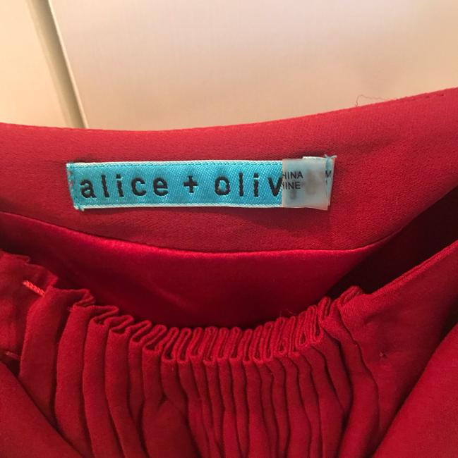 Alice + Olivia Top Red Image 1