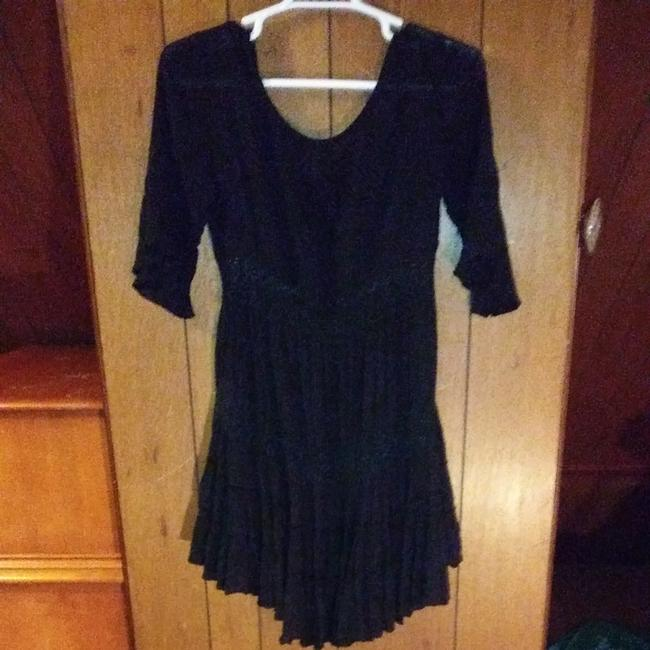 Free People short dress Black Free People casual dress. Great condition. No stains or signs of wear. on Tradesy Image 3