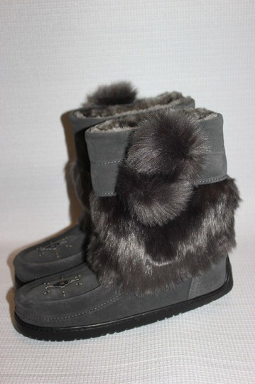 MANITOBAH FOR J.CREW Gray Boots Image 2